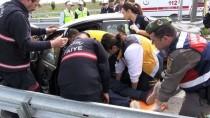 İki Otomobil Çarpıştı Açıklaması 1 Ölü, 5 Yaralı