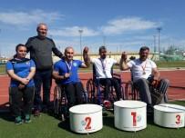KAĞıTSPOR - Kağıtsporlu Şahin, Gülle'de Türkiye Rekoru Kırdı
