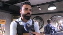 CİLT BAKIMI - Kaldırımlarda Çalışanlara Sokakta 'Bakım' Hizmeti