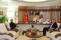 Kayseri Cumhuriyet Başsavcısı Akın'dan Rektör Bağlı'ya Ziyaret