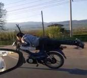 Motosikletli Sürücünün Tehlikeli Yolculuğu