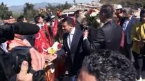 YÜKSEK HıZLı TREN - Sındırgı-Akhisar Yolunun Temeli 'Kanlı Viraj'da Atıldı