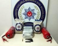 POLİS KAMERASI - Tırdaki Yangın Tüpünün İçinden 19 Kilogram Uyuşturucu Çıktı