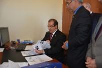 Uşak Valisi Salim Demir'den Pasaport Ve Ehliyet Denetimi