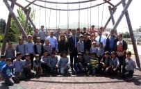 TAHTEREVALLI - Yücel, Yapımı Devam Eden Parkları İnceledi