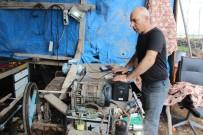 MODIFIYE - Araç Üretmek İçin Yola Çıktı Elektrik Üretti
