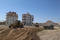 SEYRANI - Aşık Seyrani Mahallesinde Park Zemin Çalışmalarına Başlandı