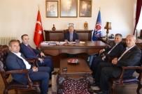 İBRAHIM AYDıN - Başkan Gümrükçüoğlu'nun Mardin'den Misafirleri Var
