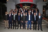 KAPITALIST - Başkan Toçoğlu'nun Konuğu Prof. Dr. Ökten Oldu