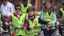 Bisikletçiler Anadolu Ajansı İçin Pedalladı