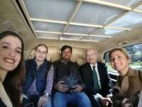 GÜLTEKİN UYSAL - Demokrat Parti'den CHP'ye Ziyaret