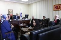 TÜRK ORDUSU - Kadınlardan Afrin'de Yaralanan Askerlere Ziyaret