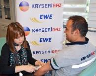 SAĞLIK TARAMASI - Kaysergaz'dan Çalışanlarına Sağlık Kontrolü