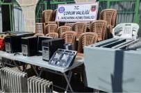 Köy Konağını Talan Ettiler, Okulu Soydular Ama Jandarma'dan Kaçamadılar