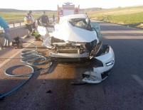 Otomobil Tıra Çarptı, Karı-Koca Hayatını Kaybetti