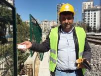 YÜKSEK HıZLı TREN - (Özel) Yüksek Hızlı Tren Şantiyesine Bir Parti İl Başkanı