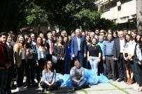 TEMİZ ENERJİ - Rektör Prof. Dr. Budak, Öğrencilerle Kampüs Temizliği İçin El Ele Verdi
