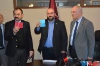 ALİ AĞAOĞLU - Trabzonspor'da Başkan Adayları Listelerini Divan Kurulu'na Teslim Etti