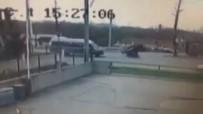Traktör Kazası Kamerada
