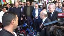 Başbakan Yardımcısı Işık, Bingöl'de Esnafı Ziyaret Etti