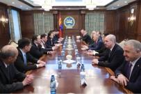 MOĞOLISTAN - Başbakan Yıldırım Moğolistan Meclis Başkanı Enkhbold İle Görüştü