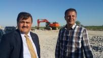 KÖY YOLLARI - Çukurova Havalimanı'nda İnşaat Çalışmaları Sürüyor