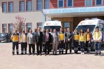 GÖKHAN KIRAÇ - Elazığ'da Ambulans Sayısı 53' E Çıktı