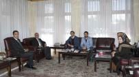 TESBIH - Gençlik Merkezi Yöneticilerinden Rektör Çomaklı'ya Ziyaret