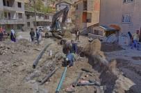 Hakkari'de 2 Mahalle İlk Defa Kanalizasyona Kavuşuyor