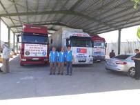 DENİZ FENERİ - İnsani Yardım Malzemeleri Suriye'ye Gönderildi