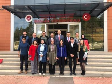 KSMMMO Başkanı Özdemir, Öğrencilere Muhasebe Mesleği Hakkında Bilgiler Verdi