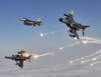 TERÖR OPERASYONU - Kuzey Irak'a hava harekatı