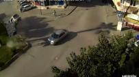 MOBESE KAMERALARI - Mersin'de Trafik Kazaları Mobeseye Yansıdı