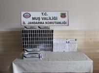 Muş'ta İn 380 Paket Gümrük Kaçağı Sigara Ele Geçirildi