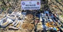 Muş'ta PKK'ya Ait Çok Sayıda Silah Ve Mühimmat Ele Geçirildi
