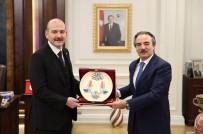 NEVÜ Rektörü Bağlı İçişleri Bakanı Soylu'yu Ziyaret Etti