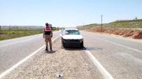 MEHTAP - Otomobil Yan Yattı Açıklaması 4 Yaralı