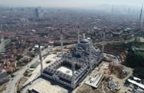 ÇAMLıCA - Sona Gelinen Çamlıca Camii Havadan Görüntülendi