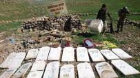 Türbeyi Terör Mezarlığına Çeviren PKK'ya Ağır Darbe