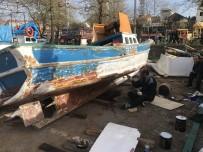 Balıkçılar Tekneleri Onarmaya Başladı