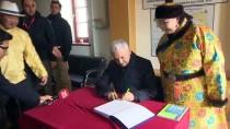BILGE KAĞAN - Başbakan Yıldırım, Orhun Anıtları'nı Ziyaret Etti