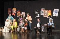 TÜRK TİYATROSU - Başkentli Amatör Tiyatrocuların Mezuniyet Sevinci