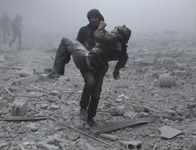 Esad rejimi Doğu Guta'yı kimyasal silahla vurdu