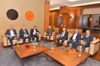 BARTIN ÜNİVERSİTESİ - Rektör Uzun, 11. Kalkınma Planı Karadeniz Bölgesi İstişare Toplantısına Katıldı
