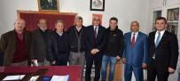 ŞAHMERAN - TESOB Başkanı Metin Kara Oda Ziyaretlerini Sürdürüyor