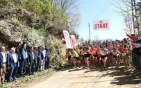 TÜRKIYE BISIKLET FEDERASYONU - Türkiye'nin Dört Bir Yanından Gelen Atlet Ve Bisikletçiler Trabzon'da Yarışıyor