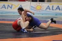 MUSTAFA ÇAKıR - Türkiye U23 Kadınlar Güreş Şampiyonası, Alanya'da Başladı