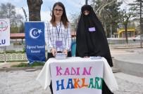 KADINA ŞİDDET - Uşak'ta Kadın Haklarıyla İlgili Farkındalık Oluşturmak Amaçlı Proje Gerçekleştirildi