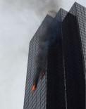 İTFAİYECİLER - ABD Başkanı Trump'un Gökdeleninde Yangın