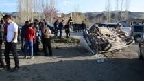 Ağrı'da Otomobil Yayalara Çarptı Açıklaması 3 Yaralı